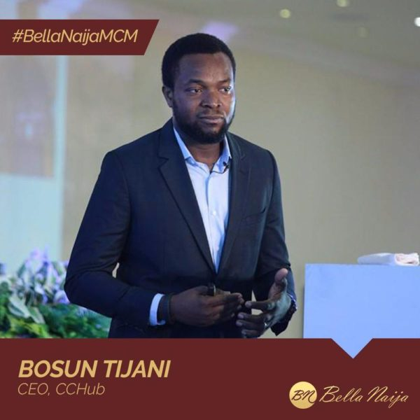 Innovation Expert & Tech Evangelist Bosun Tijani of CcHub is our #BellaNaijaMCM this Week