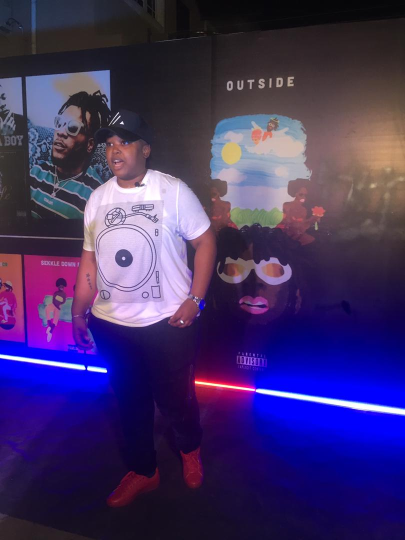 "Davido, Phyno, Idia Aisien turn up for Burna Boy's Private Listening of ""Outside"" Album"