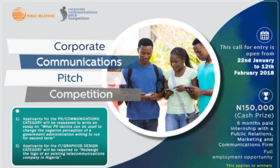 Corporate Communications Pitch Competition