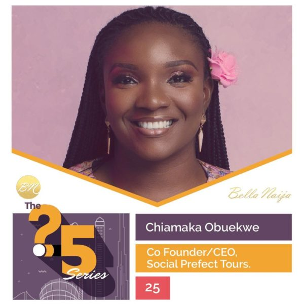 "#The25Series: In Conversation with Nigeria's ""Social Prefect"" Chiamaka Obuekwe"