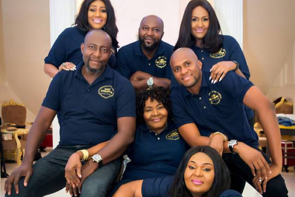 "BN Living Sweet Spot: ""Ageless"" Mum and her 6 Children - BellaNaija"
