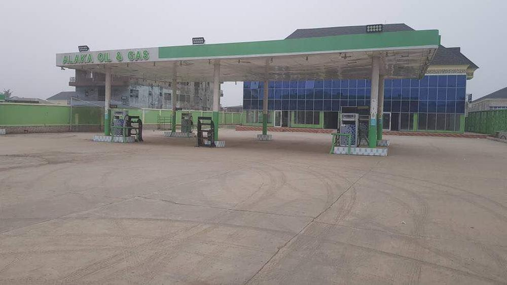 Lagos Government seals off Petrol Station of Suspected Badoo Cult Kingpin Abayomi Alaka - BellaNaija