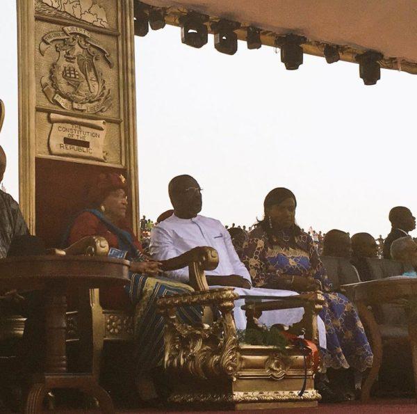 Obasanjo, Saraki, Okorocha & Okocha present as George Weah is Sworn in as President of Liberia - BellaNaija