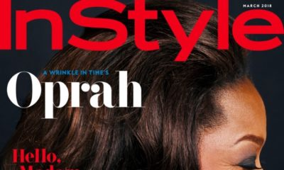 Future Madam President? Oprah Winfrey covers the March 2018 Issue of InStyle Magazine