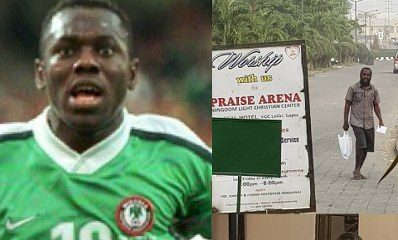 Former Nigeria International Wilson Oruma suffers relapse of Emotional Disorder