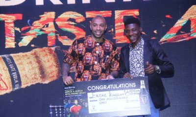 There is still time to participate and win amazing prizes in the Guinness Foreign Extra Stout 'Be A Front Row Fan' National Consumer Promotion.