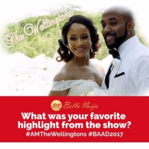 #AMTheWellingtons: Did You Watch It? Here are THREE Highlights from Banky W & Adesua Etomi's Wedding Documentary