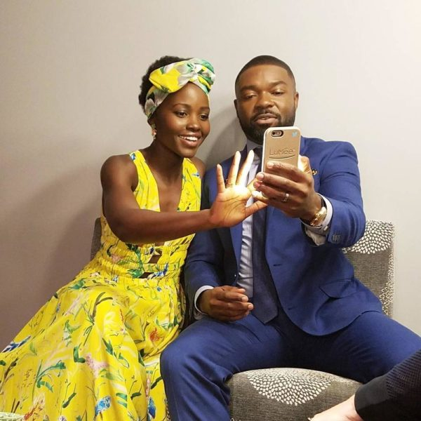 Welcome Oga! Lupita Nyong'o welcomes David Oyelowo to Instagram - BellaNaija
