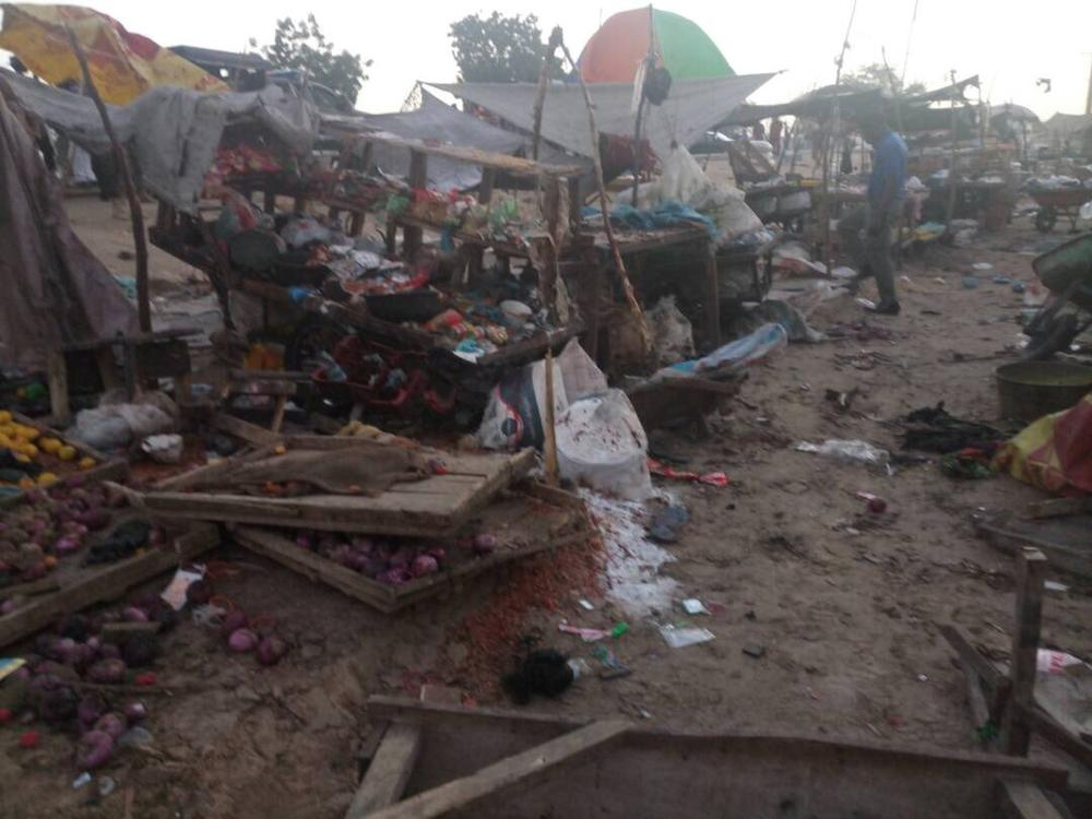 Twin blasts claim 12 lives in Maiduguri