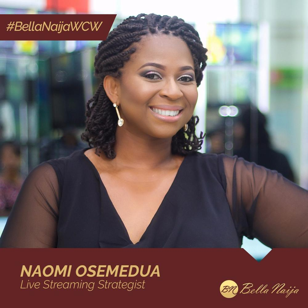 Life Streaming Strategist, Amazon Bestselling Author & Advocate! Naomi Osemedua is our #BellaNaijaWCW this Week
