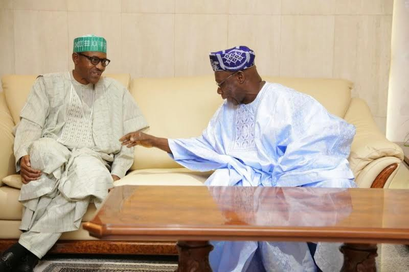 "Buhari describes Obasanjo's letter as ""Letter of Insults"" 