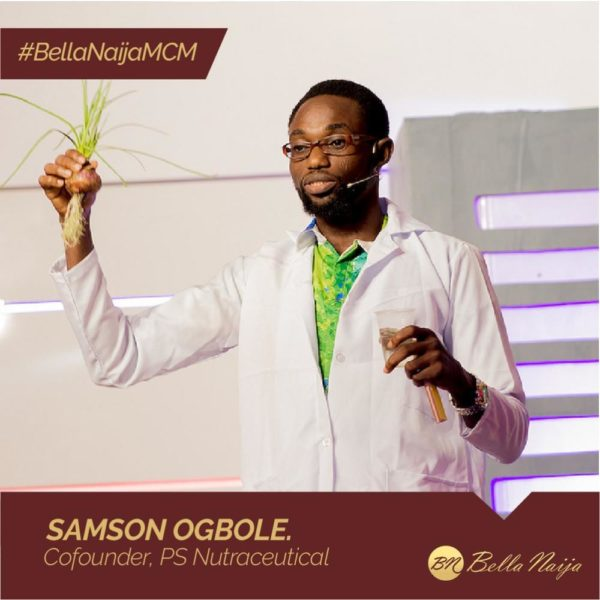 #BellaNaijaMCM: Ssamson Ogbole of PS Nutraceuticals is using Technology to Eliminate Agricultural Challenges
