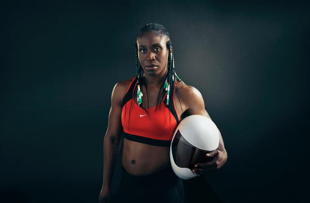 Nike celebrates Simidele Adeagbo, First African Female Skeleton Competitor in the Winter Olympics - BellaNaija