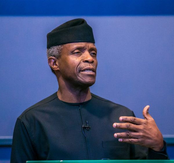 """There is no corruption in the presidency"" - Osinbajo 