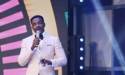 #BNxBBNaija3: Ebuka Obi-Uchendu in Mai Atafo & Ugo Monye for the #BBNaija Season 3 Premier Show
