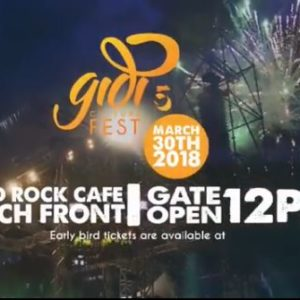 Gidi Fest is Back! 5th Edition set to hold at Hard Rock Cafe Beach Front