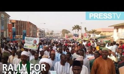 Protesters in Kano demand for release of Sheikh Ibraheem Zakzaky | WATCH
