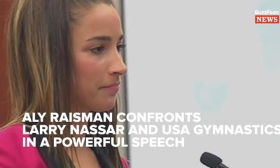 """Now, you are nothing"" - Aly Raisman gives powerful Testimony against Larry Nassar 