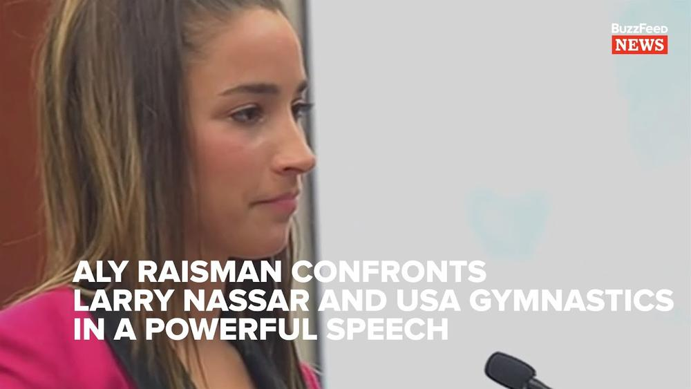 """""""Now, you are nothing"""" - Aly Raisman gives powerful Testimony against Larry Nassar 