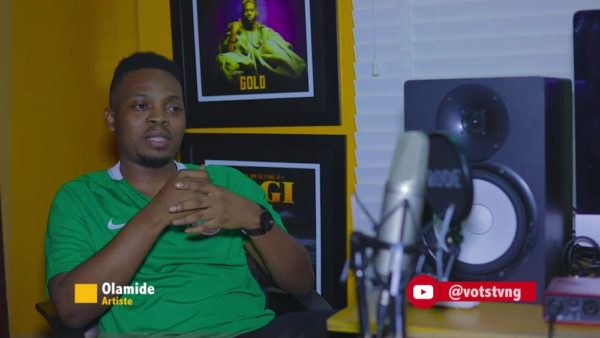 """""""It doesn't have anything to do with promoting drugs"""" - Olamide throws clarity on #ScienceStudent Lyrics   WATCH"""