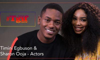 NdaniTGIF: #SGIT Faves Timini & Sharon Ooja take on the shots game | Watch on BN TV