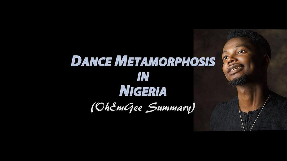 """EmmaOhMaGod chronicles the """"Dance Metamorphosis in Nigeria"""" on Hilarious New Video"""" 