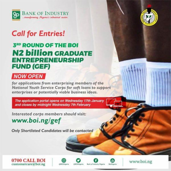 Graduate Entpreneurship Fund