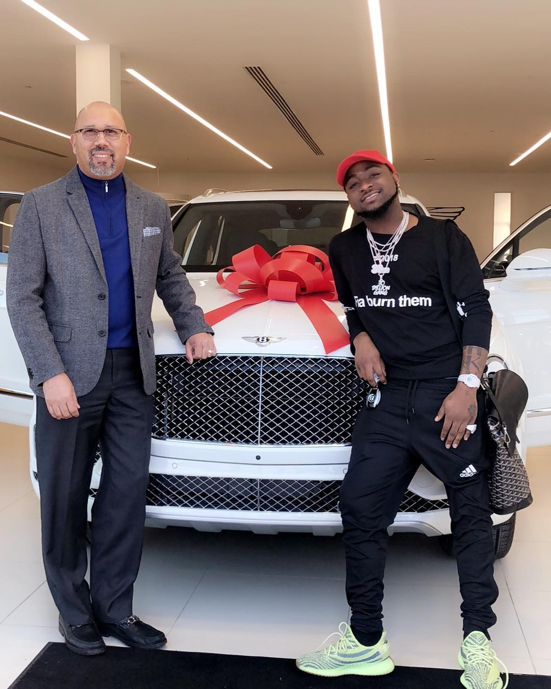 Davido purchases New Bentley