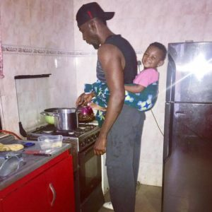 BN Living Sweet Spot: Gbenro Ajibade on Daddy/Kitchen Duties 😍
