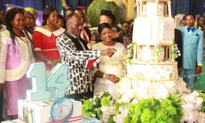 Apostle Johnson Suleiman celebrates 14 years of Ministry