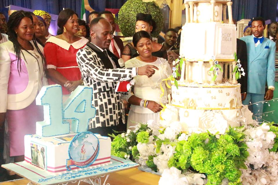 Apostle Johnson Suleiman celebrates 14 years of Ministry