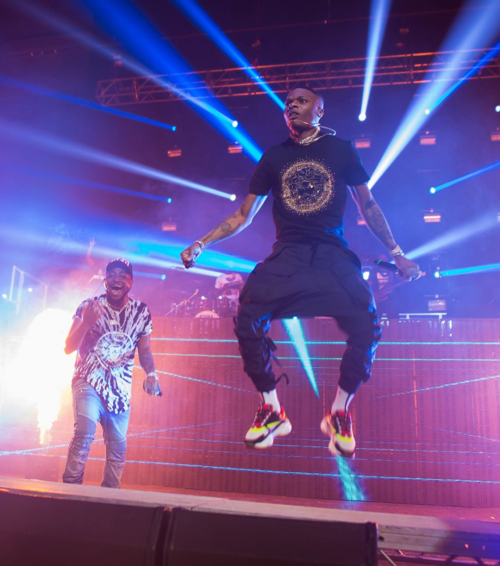 #30BillionUKTour: Wizkid makes surprise appearance at Davido's 02 Academy show in Brixton | WATCH