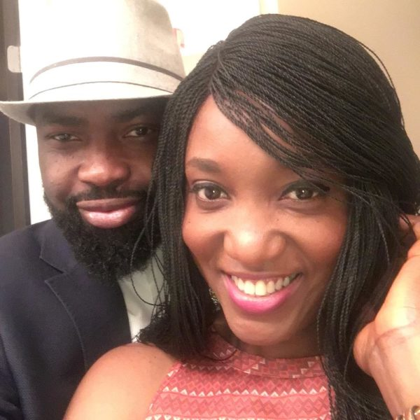 """To the most beautiful person in the world"" - Audu Maikori wishes wife Zel a Happy Wedding Anniversary - BellaNaija"