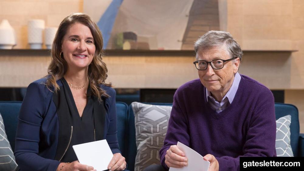 "Bill Melinda Gates Foundation: #GatesLetter2018: Bill & Melinda Gates Answer ""10 Toughest"
