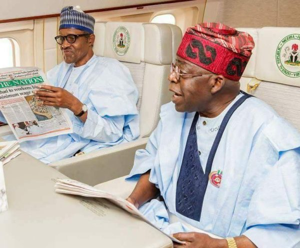 "Obasanjo & Babangida ""should allow us to move our country forward"" - Tinubu - BellaNaija"