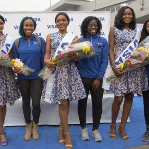 Visa hosts Nigerian bobsled team