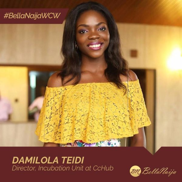 Disruptive Entrepreneur, Software Developer & Business Analyst! Damilola Teidi is our #BellaNaijaWCW this Week