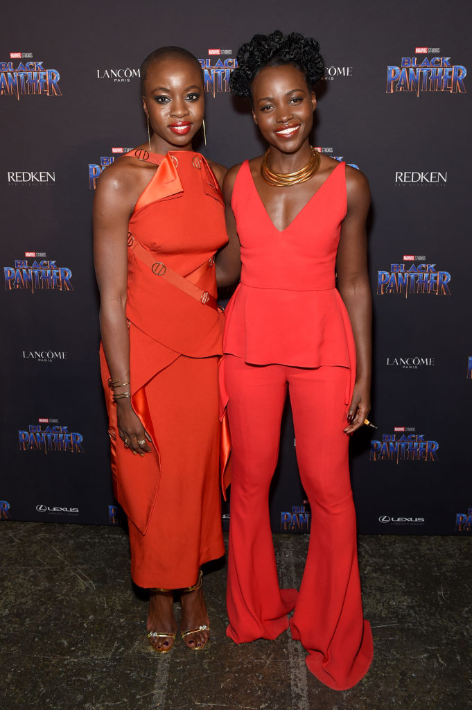 Black Panther Takes Nyfw Lupita Nyong O Chadwick Boseman Danai Gurira Ryan Coogler Spotted At Welcome To Wakanda Showcase Bellanaija
