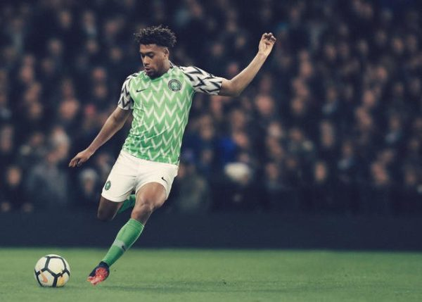 Watch Behind the Scenes of the reveal of Nigeria's beautiful World Cup Kit- BellaNaija