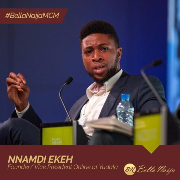Nnamdi Ekeh of Yudala is our #BellaNaijaMCM this Week
