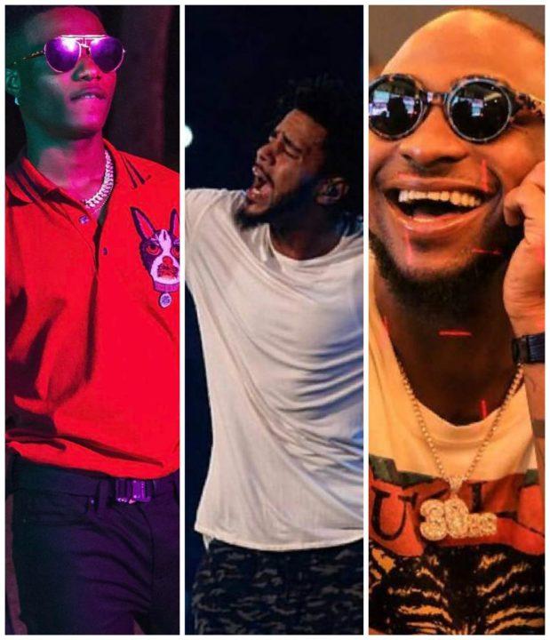 J.Cole set to perform alongside Wizkid & Davido in Nigeria 🙌
