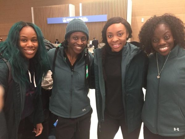 The Fab Four! Nigeria's Bobsled & Skeleton reps are in South Korea for the Winter Olympics - BellaNaija