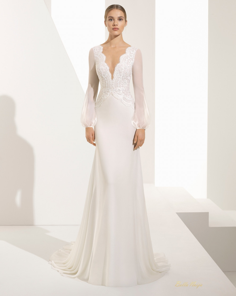 BN Bridal: Rosa Clará's Collection Is Sheer Elegance