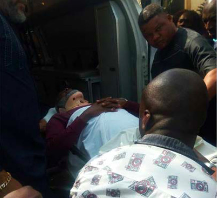 Metuh appears before Court on a Stretcher - BellaNaija