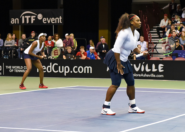 Serena Williams teams up with Sister Venus for First Competitive Match since Childbirth