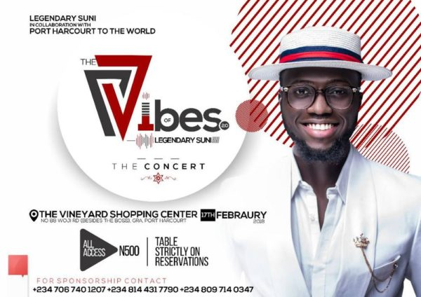 The Vibes of Legendary Suni: The Concert