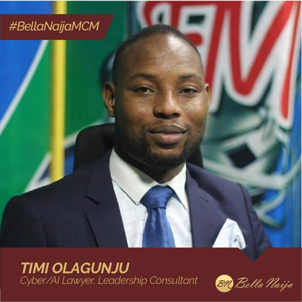 Lawyer, Leadership Consultant & Good Governance Advocate! Timi Olagunju is our #BellaNaijaMCM this Week