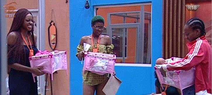#BBNaija - Day 23: Game Plans, New Love Triangle & More Exciting Highlights