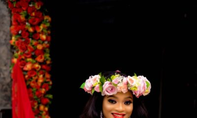 Flower Queen Mum to Be! ? Blessing's Snapchat Filter inspired Maternity Photos