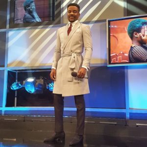 "Ebuka Obi-Uchendu's Look for the #BBNaija Live Show Tonight was ""Quite Different"" Indeed!"